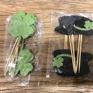 Other - St. Patrick's Day Cupcake Toppers